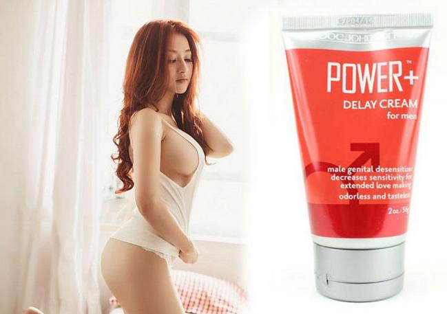 Gel chống xuất tinh sớm Power Delay Cream