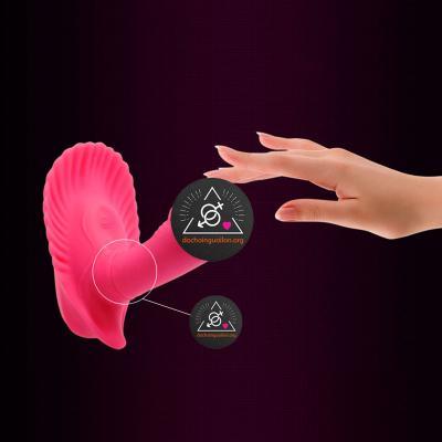 Dương vật massage điểm G vỏ sò điều khiển từ xa Prettylove