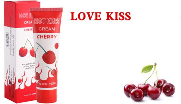 Gel Bôi Trơn Love Kiss Hương Sơ ri